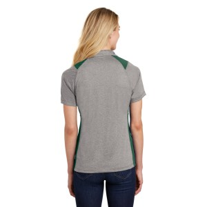 Sport-Tek® Ladies Heather Colorblock Contender™ Polo – LST665