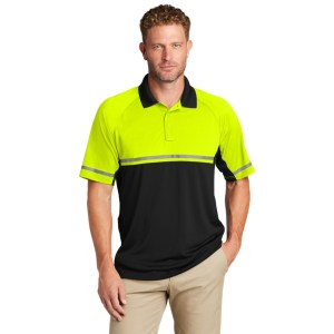 CornerStone ® Select Lightweight Snag-Proof Enhanced Visibility Polo – CS423