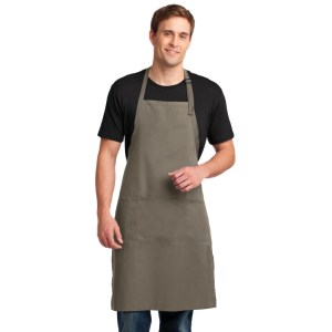 Port Authority® Easy Care Extra Long Bib Apron with Stain Release – A700