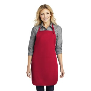 Port Authority® Easy Care Full-Length Apron with Stain Release – A703