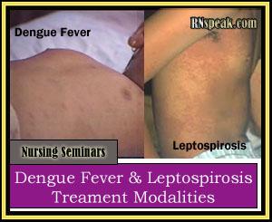 Dengue Fever & Leptospirosis Treament Modalities Nursing Seminars