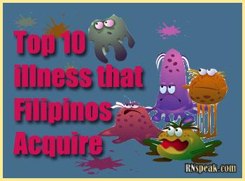 Top 10 Illness That Filipinos Acquire