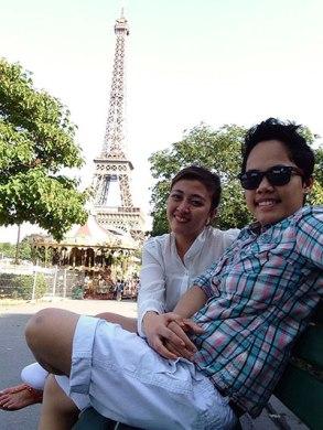 nurse-cathy travels paris