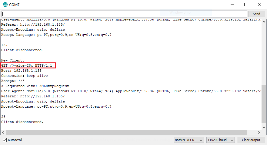 Esp servo motor web server with arduino ide random