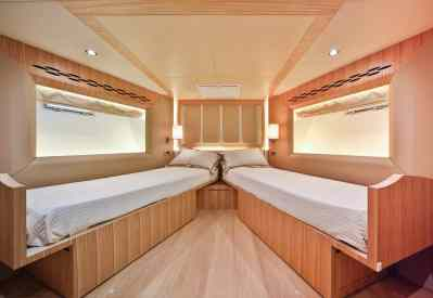 Nomad 65 Forward VIP Guest Cabin