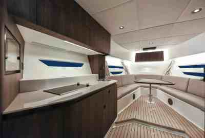 Oryx 379 Galley and Forward Seating