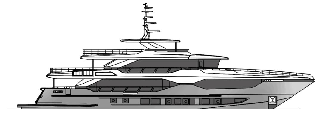 Majesty Yachts 120 2D