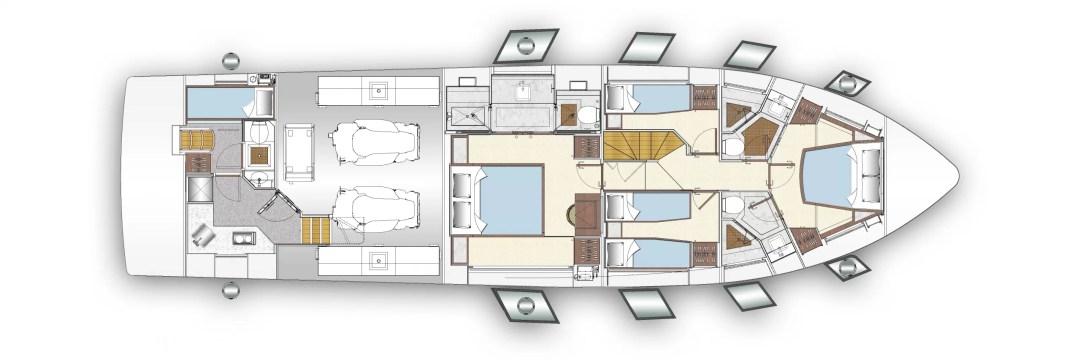 Majesty 62 deckplans 3