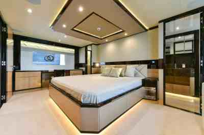 Majesty 90 Owners Stateroom