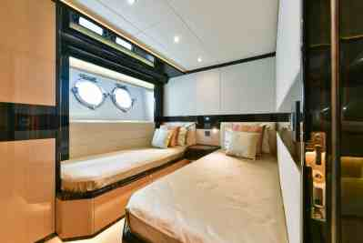 Majesty 90 Twin Guest Stateroom