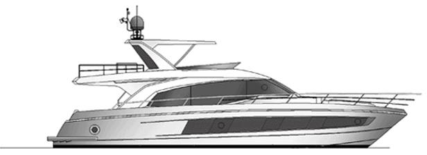 Majesty Yachts 62 2D