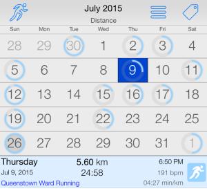 CalendarRun