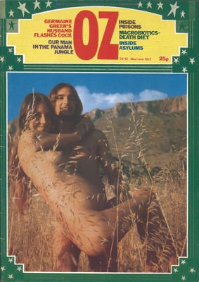 OZ magazine London  Historical  Cultural Collections  University of Wollongong