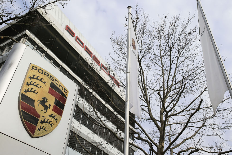 Porsche HQ at Stuttgart-Zuffenhausen.  Photo: Thomas Niedermueller/Getty Images