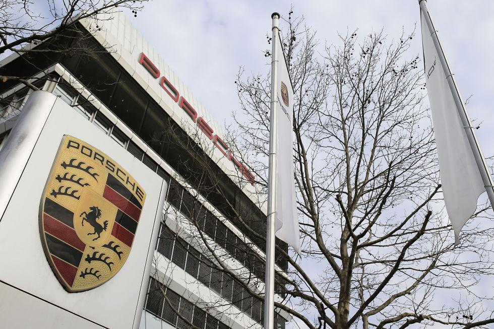 Porsche HQ at Stuttgart-Zuffenhausen.  Photo: Thomas Niedermueller/Getty Images