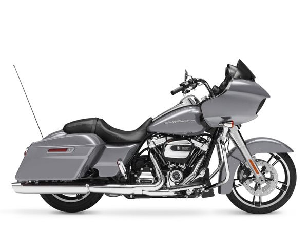 Base Price: $19,000The Harley-Davison Road Glide costs some money—that is without debate. The company's biggest bikes always do. But here's the thing, the new Glide is the least expensive bike Harley-Davidson offers with its massive, all-new 107 cubic-inch (1753cc) Milwaukie Eight V-Twin. It's not often that Harley completely redesigns its engines, and this one is significant because it has to carry the company into the future tackling stricter emissions and noise regulations. Harley says the new motor delivers more torque (10 percent) thanks to the four valve heads and a bump in compression. Harley also worked to reduce vibration and heat while also improving fuel economy.But the new engine isn't the only news here, Harley has redesigned the suspension of the Glide to ride and handle better while also improving the range and ease of adjustability—we that new fairing ain't bad to look at either.