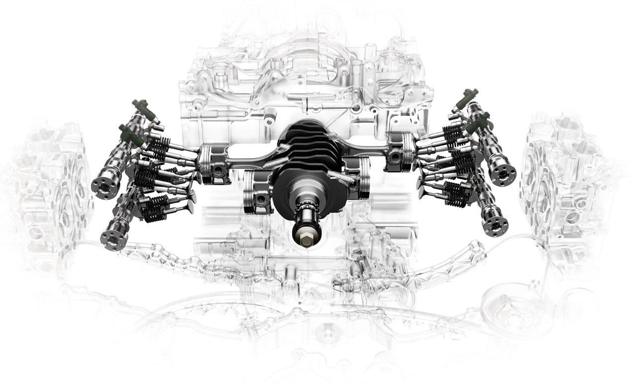 Subaru Fb Flat Four Engine Details