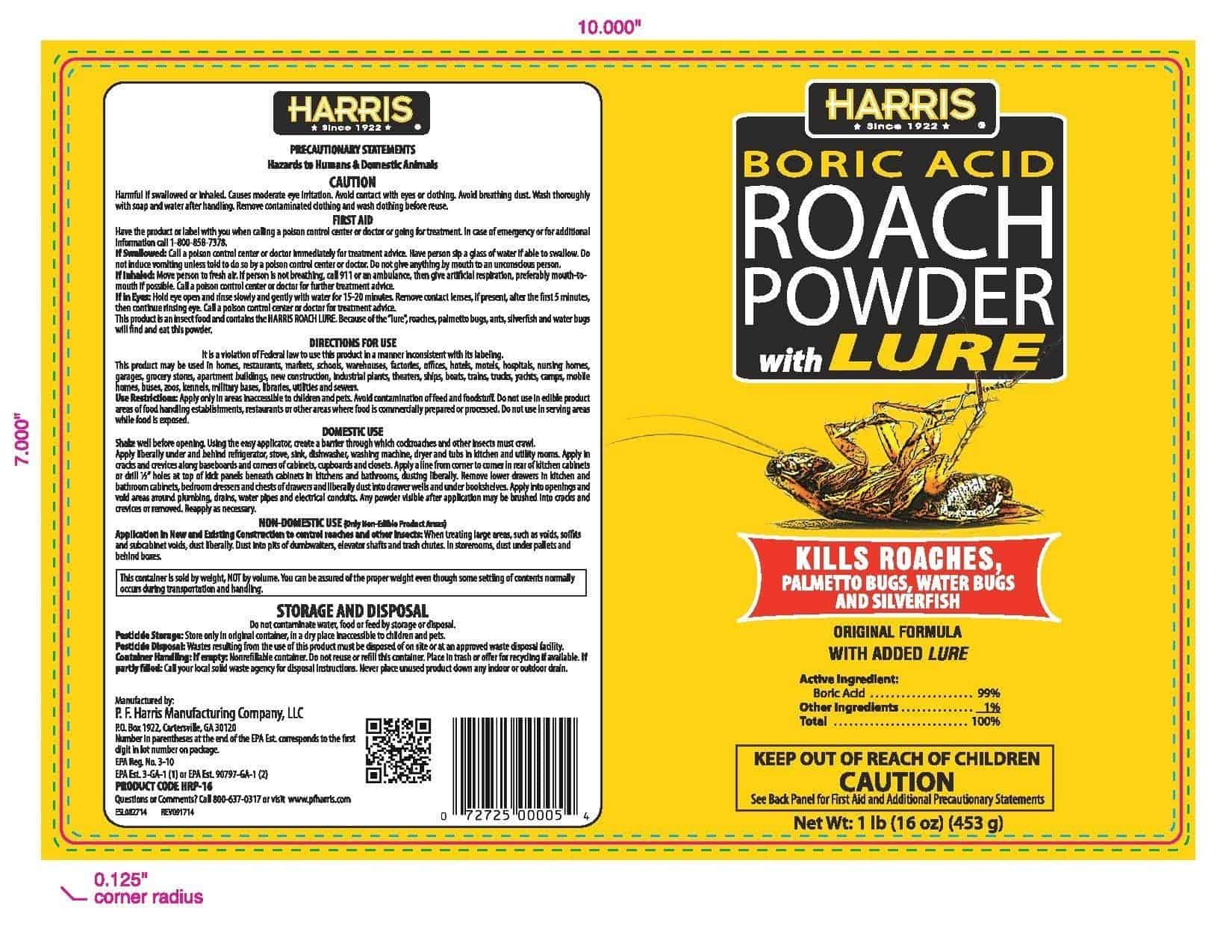 Best roach killer boric acid