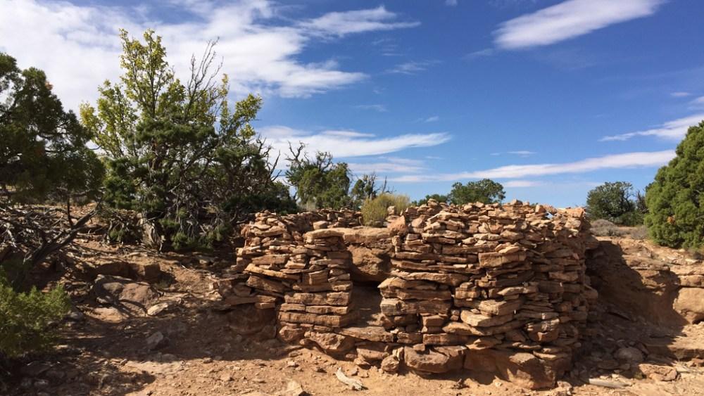 aztec-butte-ruine