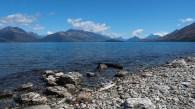 Auf dem Weg nach Glenorchy entland des Lake Wakatipu