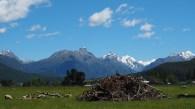 Auf dem Weg zum Mount Aspiring National Park