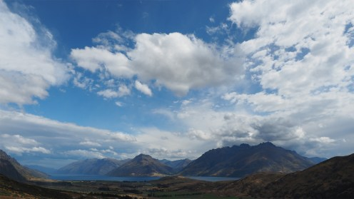 Toller Blick auf den Lake Wakatipu