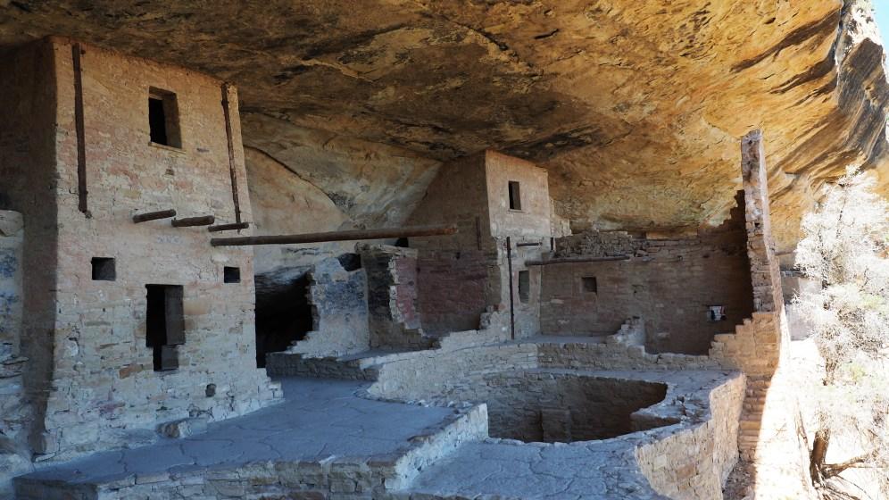 Cliff Dwellings mit Kiva