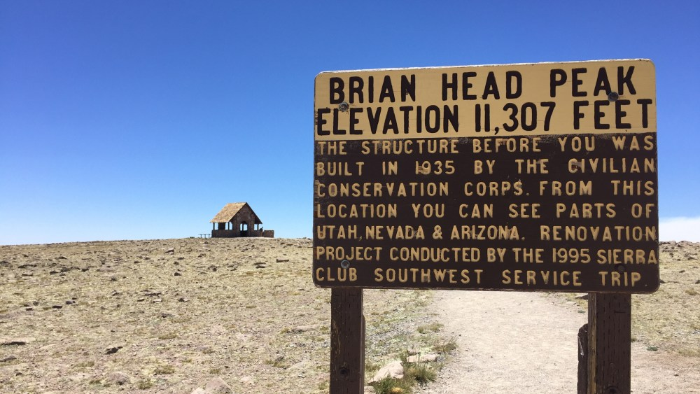 Brian-Head-Peak-Tafel