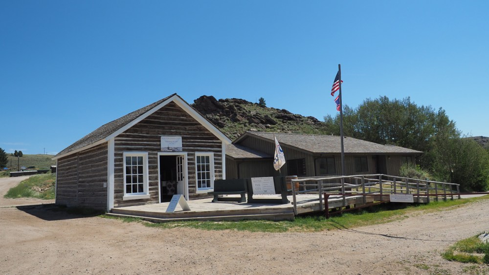 Die Dance Hall in South Pass City