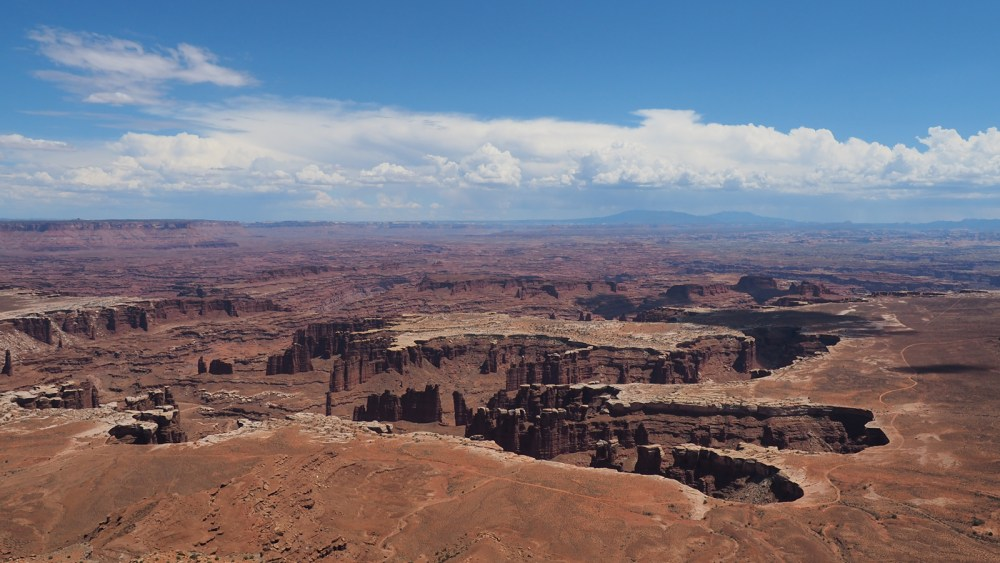 Canyonlands National Park mit Grand View Point im Island of the Sky District