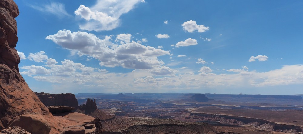 Grand View Point Trail im Canyonlands National Park Island in the Sky District
