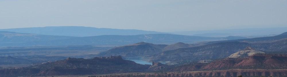 Blick zum Red Fleet State Park bei Vernal in Utah