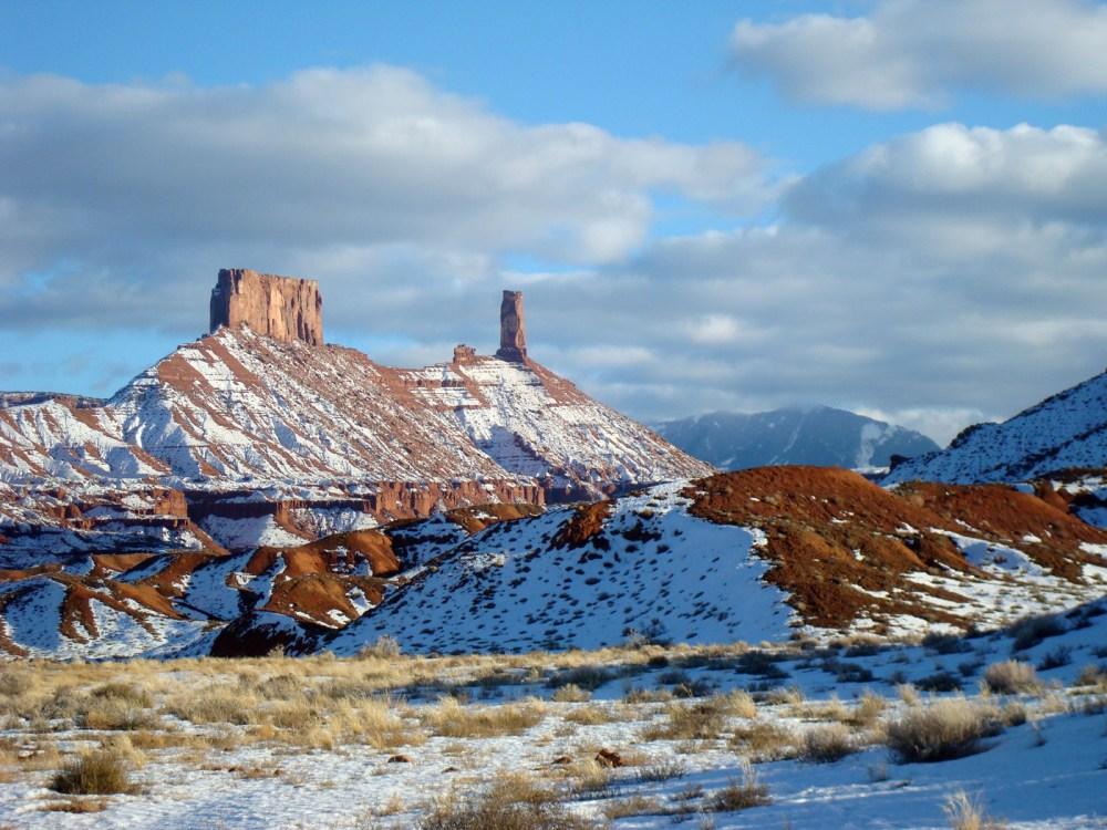 Castle Valley im Winter
