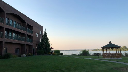 Hampton Inn in Richland direkt am Columbia River gelegen