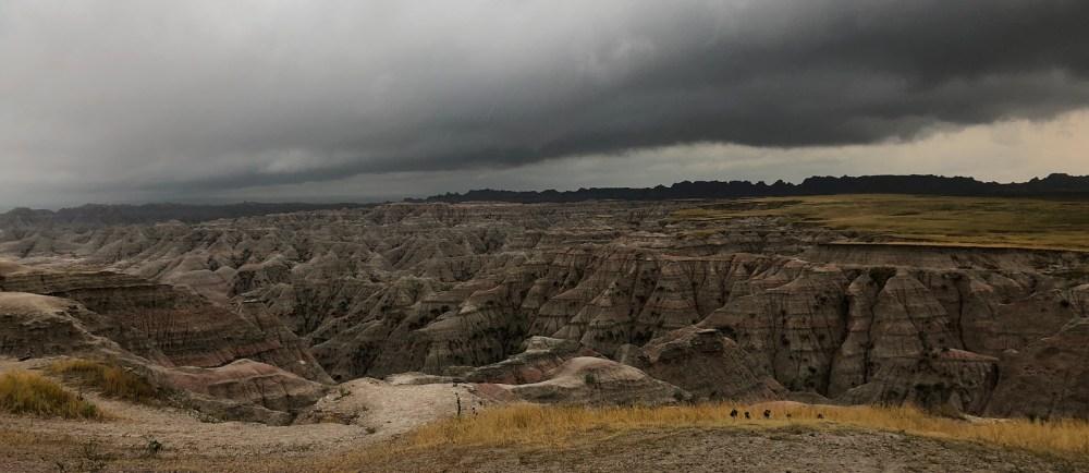 Big Badlands Overlook Point