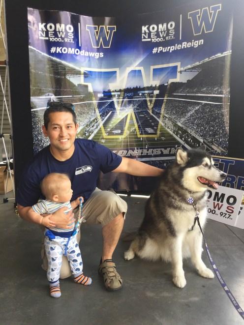 Washington Huskies im Alaska Airlines Field