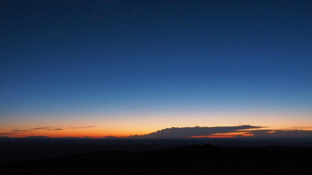 Sonnenuntergang in den La Sal Mountains
