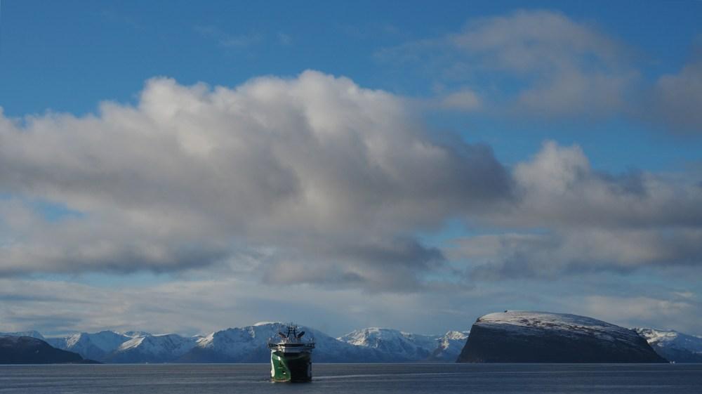 Im Hafen von Hammerfest