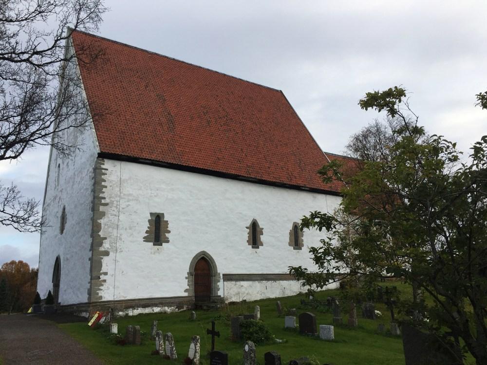Die mittelalterliche Kirche von Trondenes