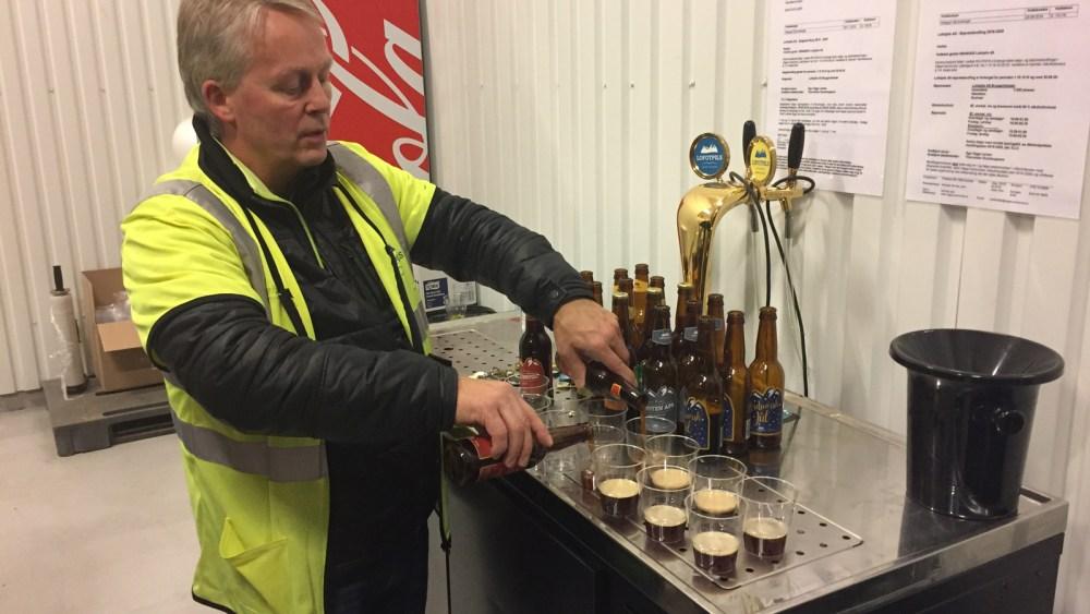 Wir degustierten grosszügig alle Lofotpils Biere