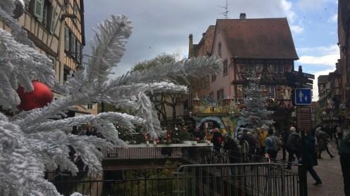 Am Weihnachtsmarkt in Colmar