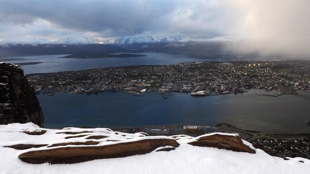 Tromsø und MS Polarlys