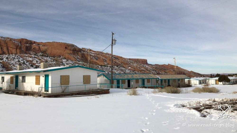 Das verlassene Anasazi Inn beim Tsegi Canyon