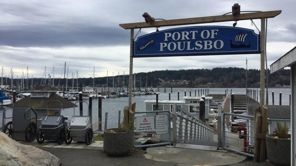 Am Hafen von Poulsbo