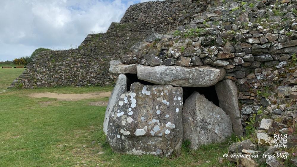 Die 4'500 Jahre alte Megalithenanlage von Barnenez
