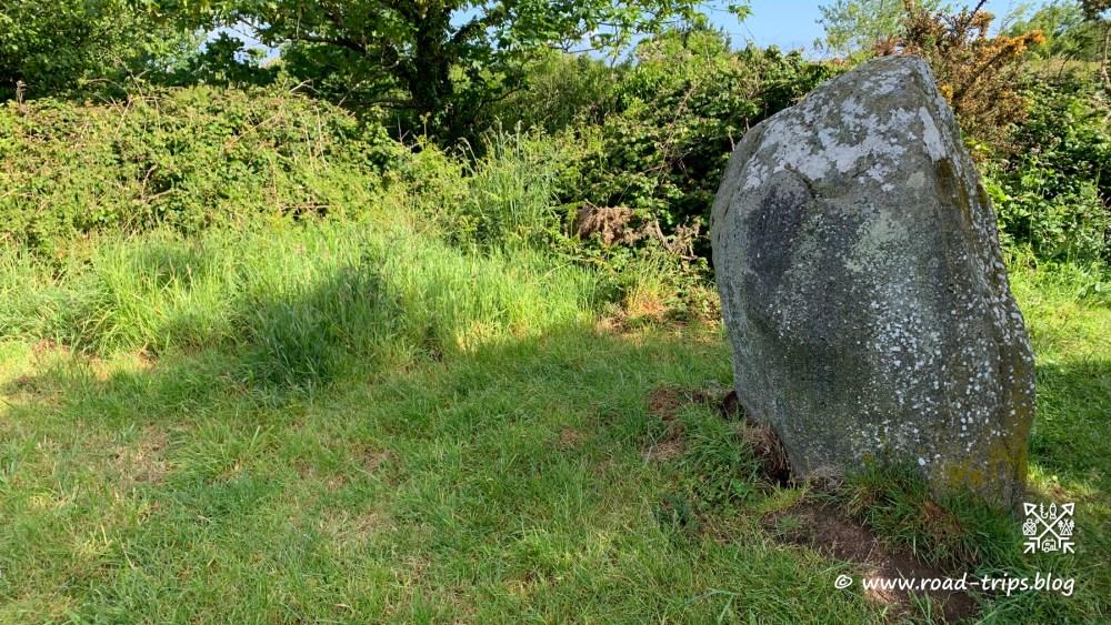 Menhir bei Guilliguy