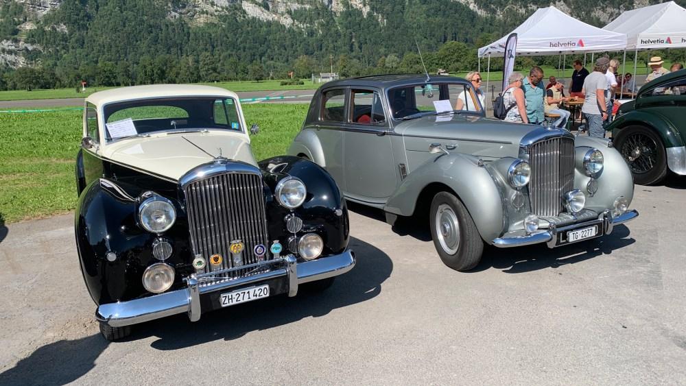 British Car Meeting in Mollis