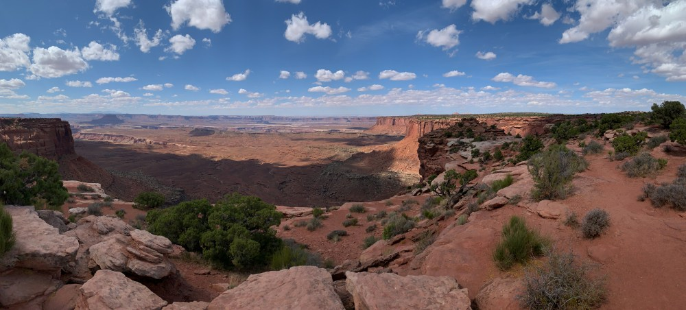 Orange Cliffs Overlook