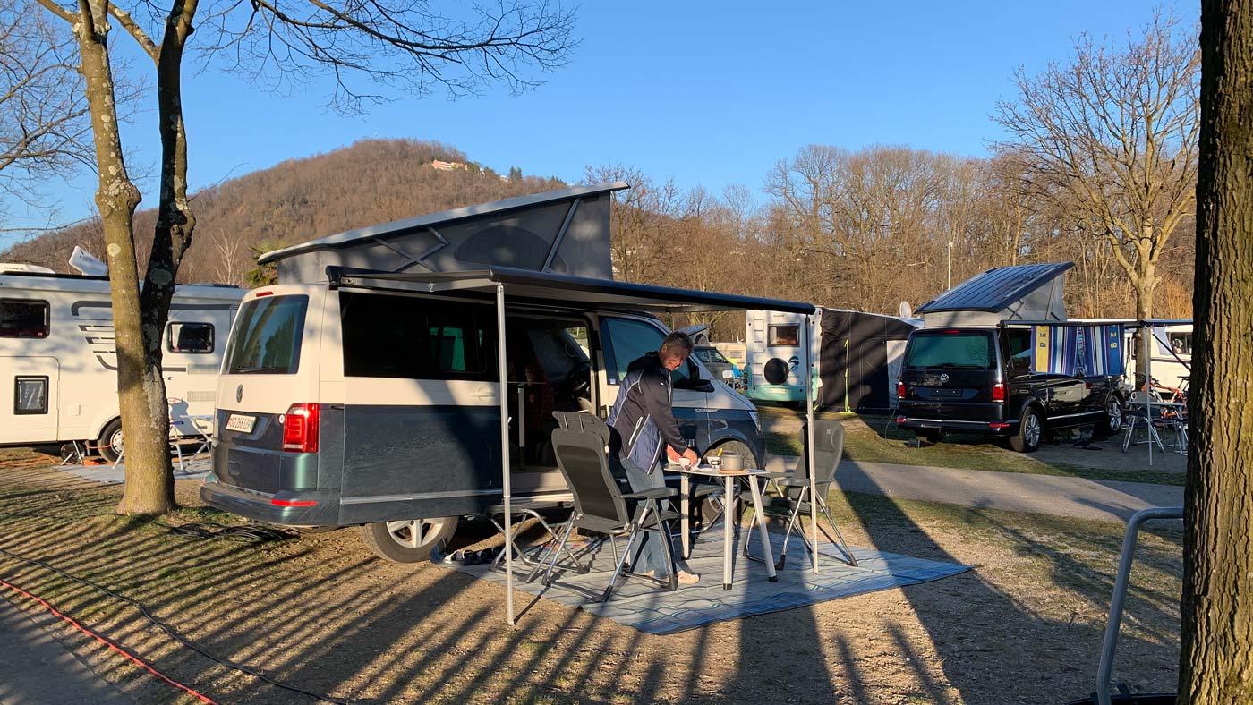 TCS Camping Lugano Muzzano