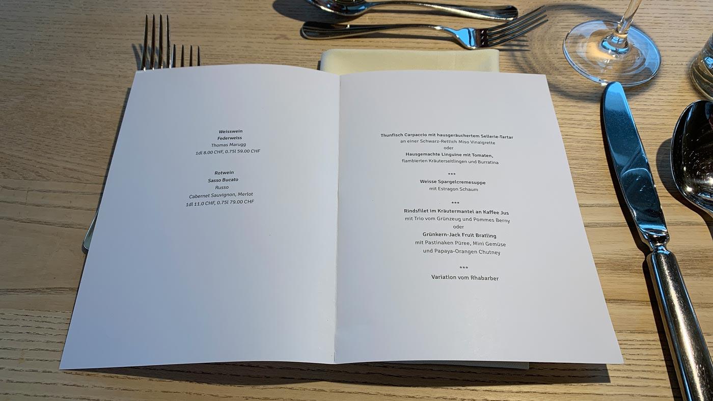 Vollmond Dinner